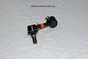Передняя левая стойка стабилизатора (555) Pajero III